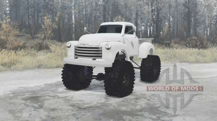 Chevrolet 3100 (GP-3104) 1949 for MudRunner