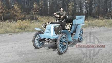 Renault Type G 1902 for MudRunner