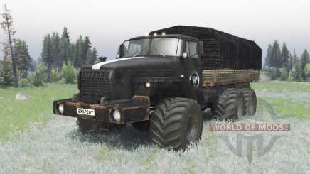 Ural 4320 custom off-road v1.1 for Spin Tires