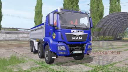 MAN TGS 35.440 8x8 Meiller 2012 for Farming Simulator 2017