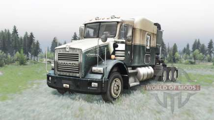 Kenworth T800 4-axes for Spin Tires