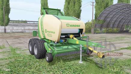Krone Comprima F155 XC v1.1 for Farming Simulator 2017