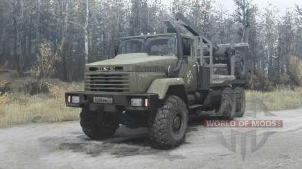 KrAZ-64372 v3.2 for MudRunner