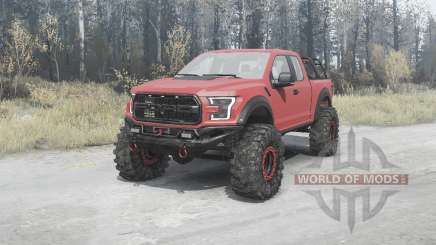 Ford F-150 Raptor v1.1 for MudRunner