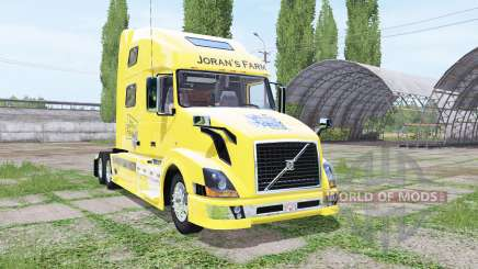 Volvo VNL 780 JoranS Farm for Farming Simulator 2017