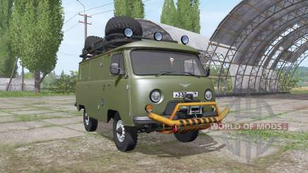 UAZ 3741 1985 for Farming Simulator 2017