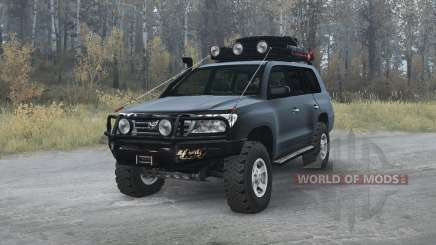 Toyota Land Cruiser 200 (UZJ200) 2008 v1.2 for MudRunner