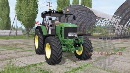 John Deere 7430 Premium more realistic v1.1 for Farming Simulator 2017