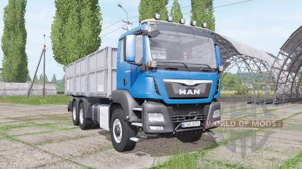 MAN TGS 6x6 L Day Cab v1.2 for Farming Simulator 2017