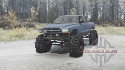 Dodge Dakota Club Cab 1997 extreme off-road for MudRunner