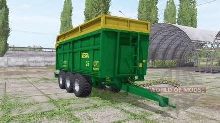 ZDT Mega 25 for Farming Simulator 2017
