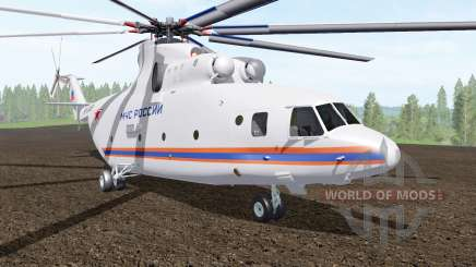 Mi-26T of the Ministry of emergency situations of Russia for Farming Simulator 2017