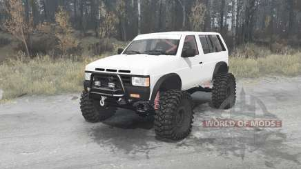 Nissan Terrano R3M 4-door (YD21) 1989 for MudRunner