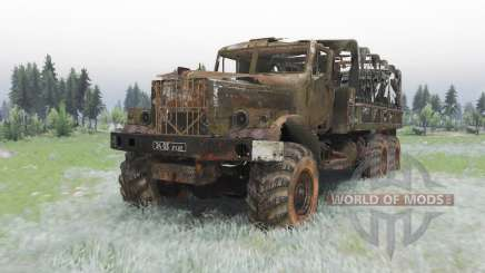 KrAZ-255B Last breath for Spin Tires
