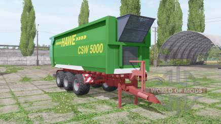 Hawe CSW 5000 for Farming Simulator 2017