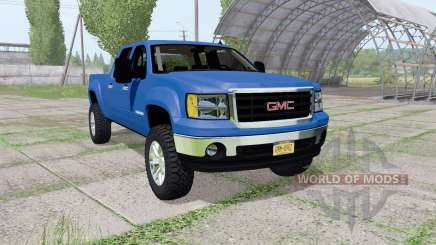 GMC Sierra 2500 HD Crew Cab 2010 v1.2 for Farming Simulator 2017