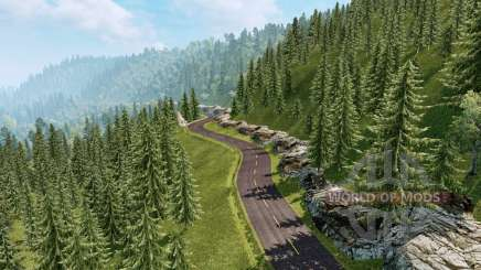 Landscapes of South America v2.1 for Euro Truck Simulator 2