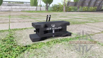 New Holland front weight for Farming Simulator 2017