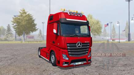 Mercedes-Benz Actros (MP4) for Farming Simulator 2013