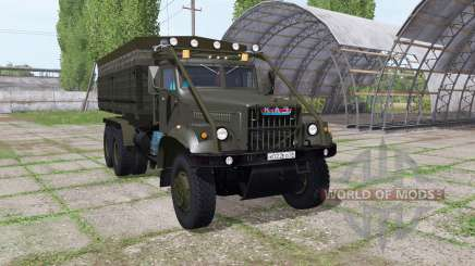 KrAZ 255B v1.2.1 for Farming Simulator 2017