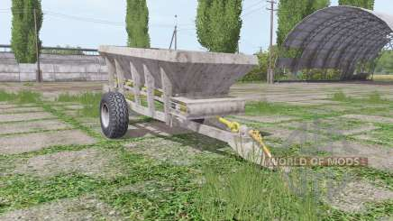 UNIA RCW 3000 v2.0 for Farming Simulator 2017