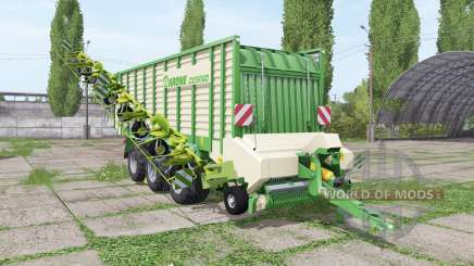 Krone ZX 550 GD rake for Farming Simulator 2017