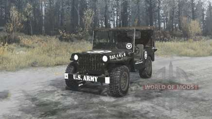 Willys MB 1942 U.S.Army for MudRunner