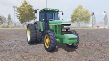 John Deere 7800 weight for Farming Simulator 2013