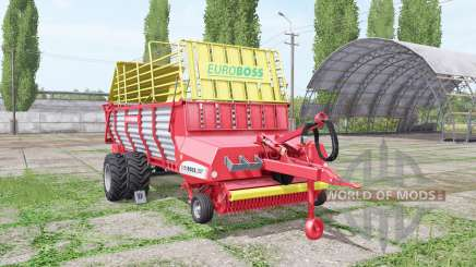 POTTINGER EUROBOSS 330 T twin tires v2.0 for Farming Simulator 2017