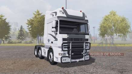 DAF XF105 FTG Super Space Cab v1.1 for Farming Simulator 2013