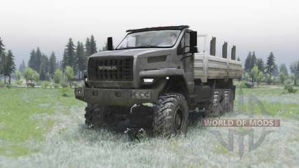 Урал Next (4320-6951-74) edit Armata v1.1 for Spin Tires