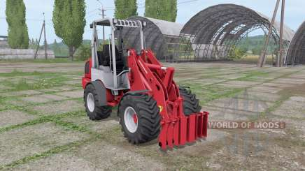 Weidemann 1770 CX 50 for Farming Simulator 2017