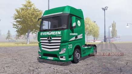 Mercedes-Benz Actros (MP4) Evergreen for Farming Simulator 2013
