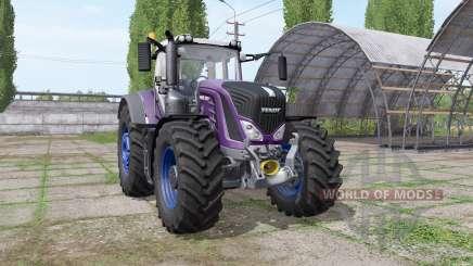 Fendt 939 Vario multicolor - more engine for Farming Simulator 2017