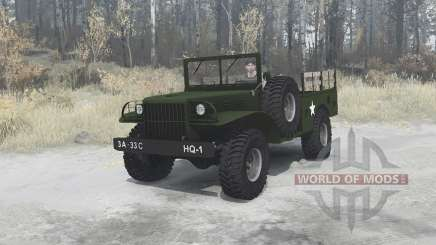 Dodge WC-51 [T214] 1942 for MudRunner