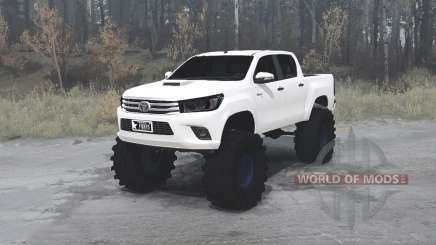 Toyota Hilux Double Cab 2016 for MudRunner