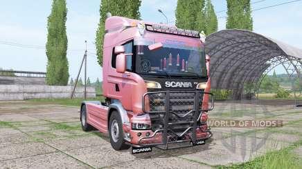 Scania R580 Highline Cab 2013 v1.0.0.1 for Farming Simulator 2017