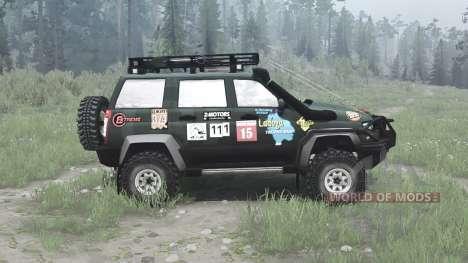 UAZ 3163 for Spintires MudRunner