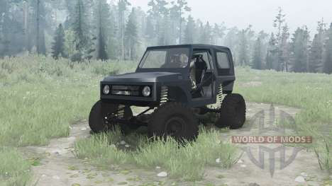 Suzuki Samurai for Spintires MudRunner