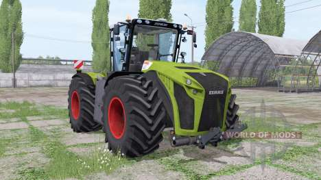 CLAAS Xerion 5000 Trac VC for Farming Simulator 2017