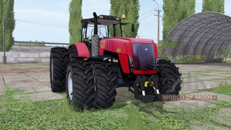 Belarus 4522 dual wheel for Farming Simulator 2017