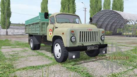 GAZ 53 for Farming Simulator 2017