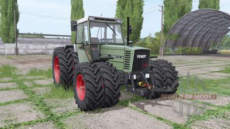 Fendt Farmer 312 LSA Turbomatik double wheels for Farming Simulator 2017