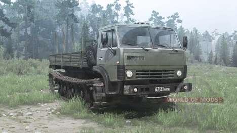 KamAZ 4310 for Spintires MudRunner