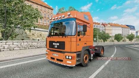 MAN F2000 19.414 FLS for Euro Truck Simulator 2