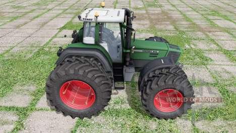 Fendt Favorit 816 Turboshift double wheels for Farming Simulator 2017