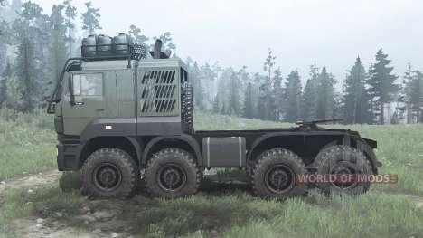KAMAZ 6522 for Spintires MudRunner