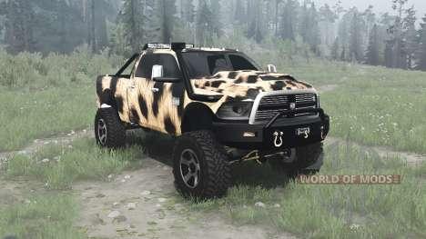 Dodge Ram for Spintires MudRunner