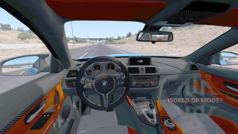 BMW M4 coupe (F82) v2.0 for American Truck Simulator