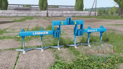 LEMKEN Dolomit 9-400 for Farming Simulator 2017